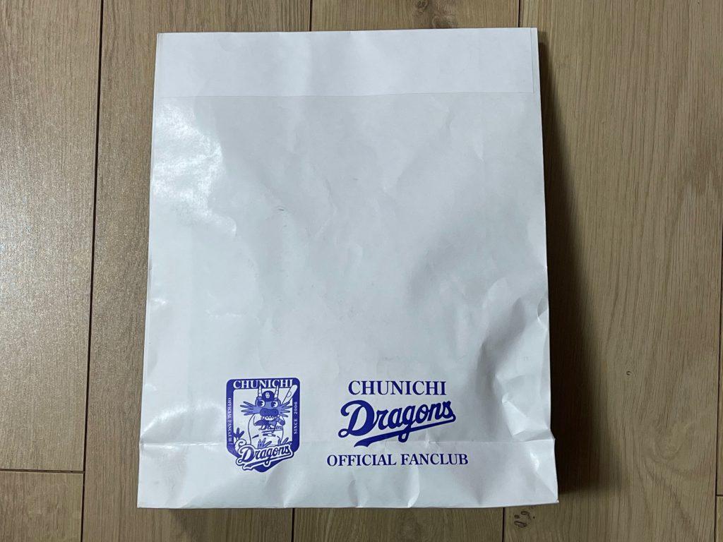 ドラゴンズ紙袋