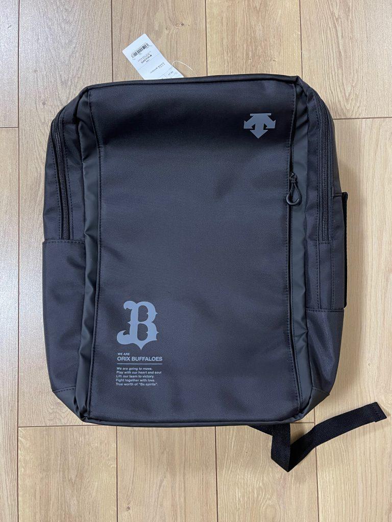 B×デサント オリジナルコラボ2WAYバッグ